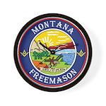 Montana Masons Wall Clock