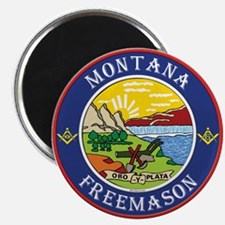 "Montana Masons 2.25"" Magnet (10 pack)"