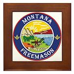 Montana Masons Framed Tile