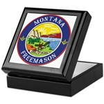 Montana Masons Keepsake Box