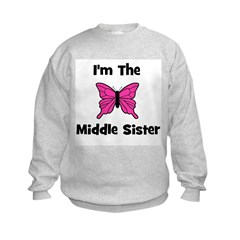 I'm The Middle Sister (butter Sweatshirt