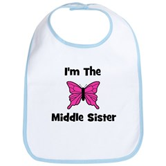 I'm The Middle Sister (butter Bib