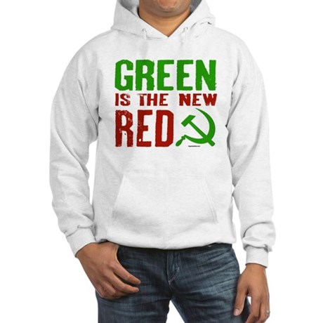 Green is the New Red Hooded Sweatshirt