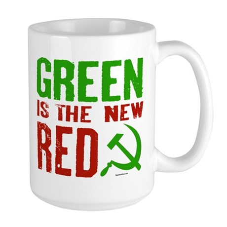 Green is the New Red Large Mug