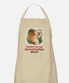 Don't turn your back BBQ Apron