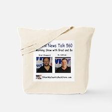 Brad and Bo Tote Bag