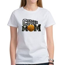 Cheer Mom (basketball) Tee