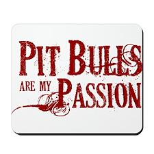 Pit Bull Passion Mousepad