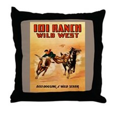 Unique 101 ranch Throw Pillow