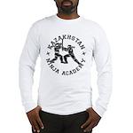 Kazakhstan Ninja Academy Long Sleeve T-Shirt