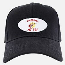 Rockin' 75th Birthday Baseball Hat