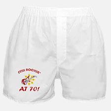Rockin' 70th Birthday Boxer Shorts