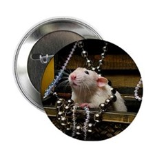 "Aimee's rats nest 2.25"" Button"