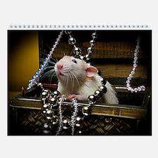 Aimee's rats nest Wall Calendar