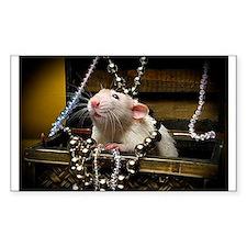 Aimee's rats nest Rectangle Sticker 10 pk)