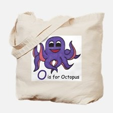 O is for Octopus Tote Bag