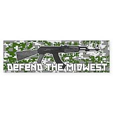 Defend the Midwest Bumper Bumper Sticker