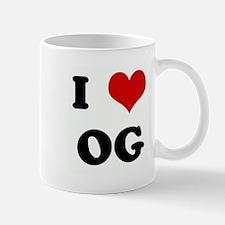 I Love OG Mug