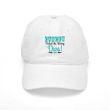 OvarianCancerPickedWrongDiva Baseball Cap