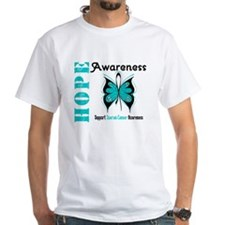 Ovarian Cancer Butterfly Shirt