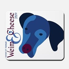 2009 Weim and Cheese MHWR Mousepad