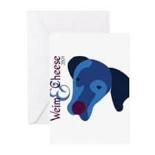 2009 Weim and Cheese MHWR Greeting Cards (Pk of 10
