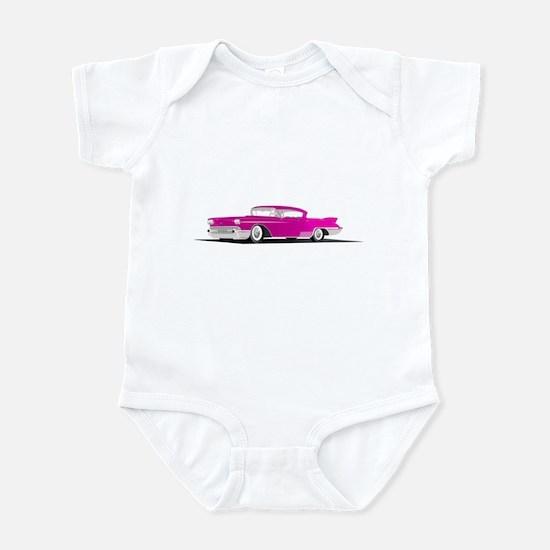 Pink Caddi Infant Bodysuit