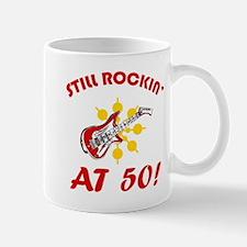 Rockin' 50th Birthday Mug