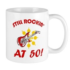 Rockin' 50th Birthday Mug