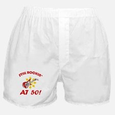 Rockin' 50th Birthday Boxer Shorts
