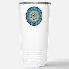 Colorful Circle of Fifths Travel Mug