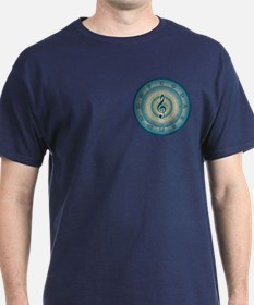 Colorful Circle of Fifths T-Shirt