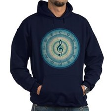 Colorful Circle of Fifths Hoodie