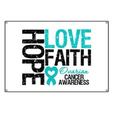 Ovarian Cancer Hope Banner