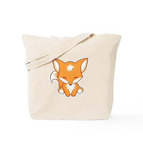 Happy Fox Tote Bag
