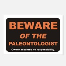 Beware / Paleontologist Postcards (Package of 8)