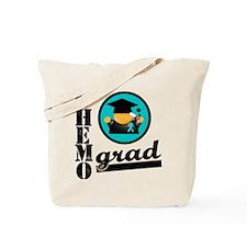 Ovarian Cancer Chemo Grad Tote Bag