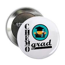 "Ovarian Cancer Chemo Grad 2.25"" Button"