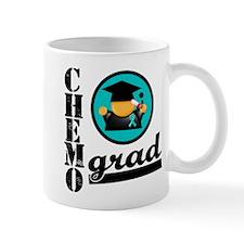 Ovarian Cancer Chemo Grad Mug
