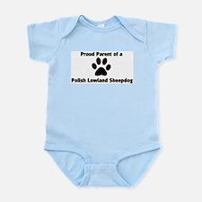 Polish Lowland Sheepdog  Infant Creeper
