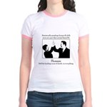 Human Flu Jr. Ringer T-Shirt