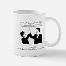 Human Flu Mug