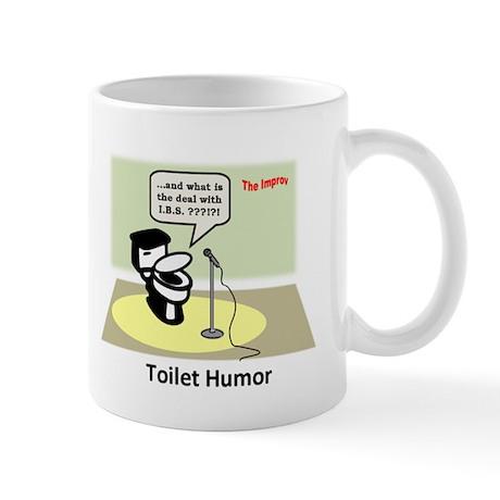 3-Toilet Humor Mugs
