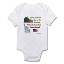 When in Rome Infant Bodysuit