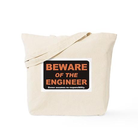 Beware / Engineer Tote Bag