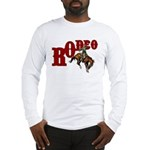 Vintage Rodeo Bronc Rider Long Sleeve T-Shirt