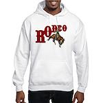 Vintage Rodeo Bronc Rider Hooded Sweatshirt