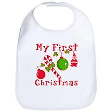 My First Christmas Bib