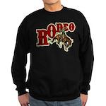 Vintage Rodeo Bronc Rider Sweatshirt (dark)