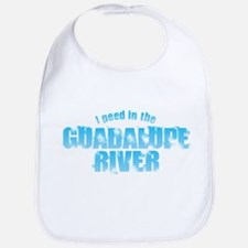I Peed in the Guadalupe River Baby Bib